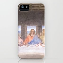 The Last Supper mural  - Leanoardo  Da Vinci - Italy iPhone Case