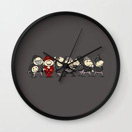 Red Dwarf Wall Clock