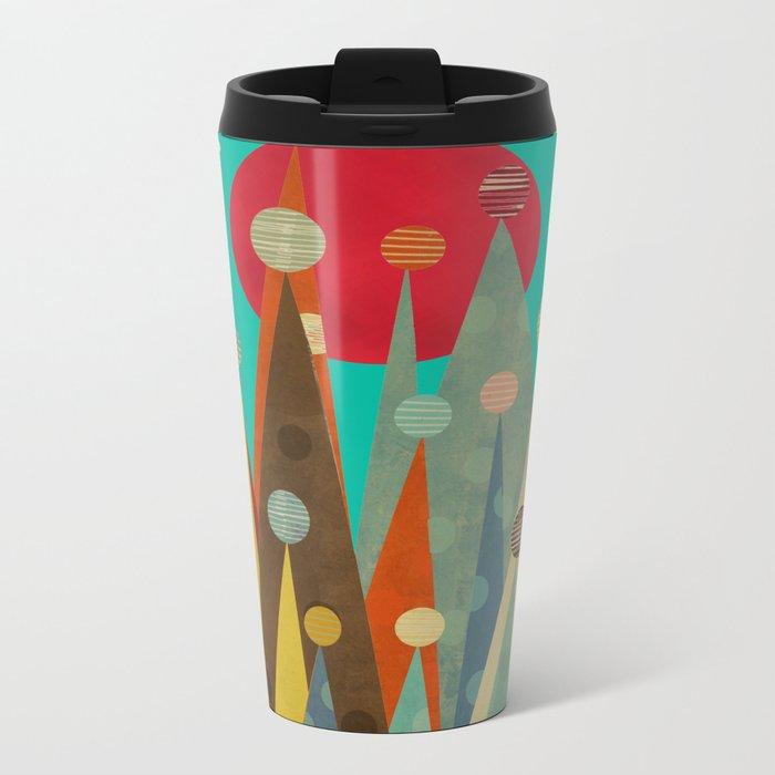 pleasure peaks Metal Travel Mug