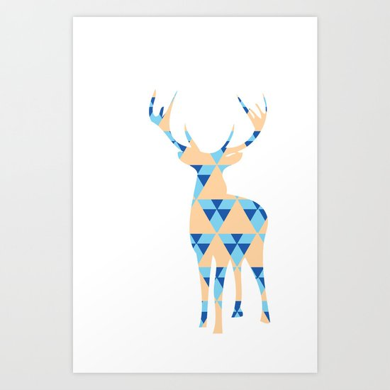I Deer You. Art Print