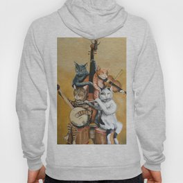 Cat Quartet Hoody
