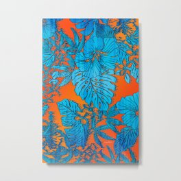 Tropical Soul Setting Metal Print