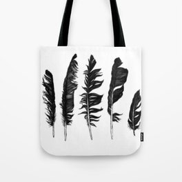 Feathers. Tote Bag