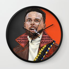 Curry, The Shooter from The Bay Wall Clock
