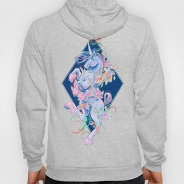 Crystal Snake Rainbow Unicorn Hoody