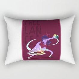 The assasin (freelance series) Rectangular Pillow