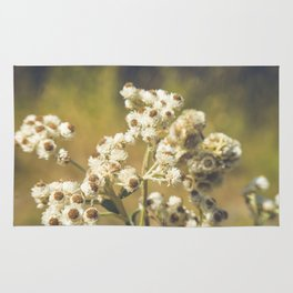 Alpine Flowers Bouquet Rug