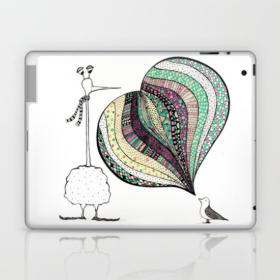 too tall Laptop & iPad Skin