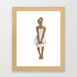 Flower Crowned | Allura Framed Art Print
