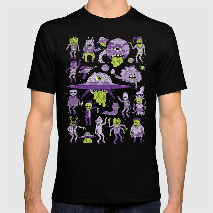Wow! Aliens!  T-shirt