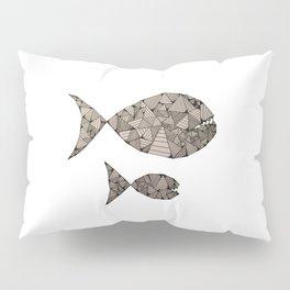 big fish small fish Pillow Sham