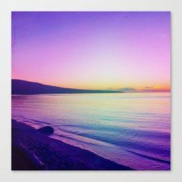 Sunset in the Porkies Canvas Print