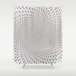 GodEye12 Shower Curtain