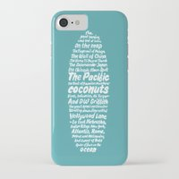 kerouac iPhone & iPod Cases featuring Surfer Kerouac  by Antilope