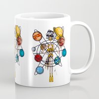 venus Mugs featuring Venus by Natalie Easton