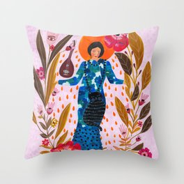 The Human Rights Arts and Film Festival By Roeqiya Fris Throw Pillow