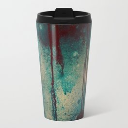 Blue spheres and tears IV Travel Mug