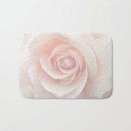 Blush Pink Rose Bath Mat