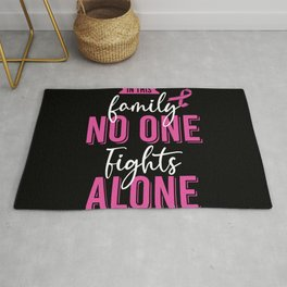 Family Fights Breast Cancer Rug