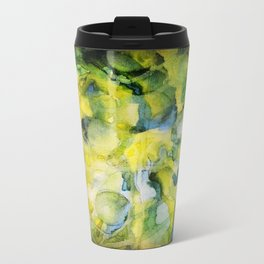 Spaced Out Watercolor Painting Travel Mug