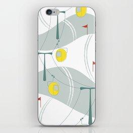 Retro Ski iPhone Skin