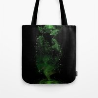 jedi Tote Bags featuring Jedi Constellation by OktopusSapiens