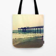 Shore at Dusk Tote Bag