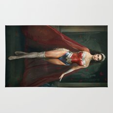 Wonder . Woman Rug