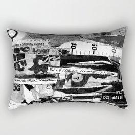 BLISSFUL BLACK @ Rectangular Pillow