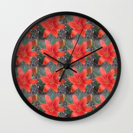 Lily Day Wall Clock