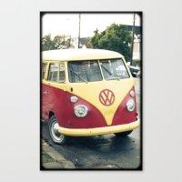 vw Canvas Prints featuring VW  by Stefanie Renee