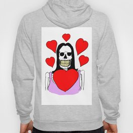 Valentina Moonguts Died For Love Hoody