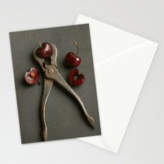 Cherries and Vintage Wrench Stationery Cards