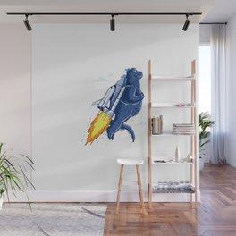 Lizard Lift-Off Wall Mural