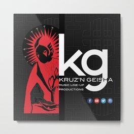 kg Metal Print