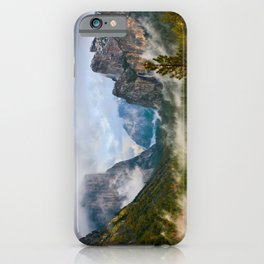 Yosemite National Park / Tunnel View  4/26/15 iPhone Case
