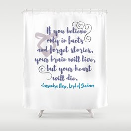 STORIES | CASSANDRA CLARE, LORD OF SHADOWS Shower Curtain