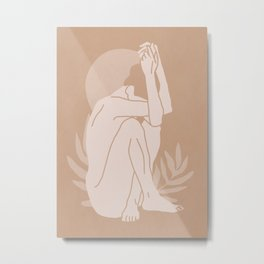 Nude 3a Metal Print