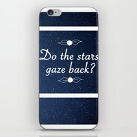 neil gaiman iPhone & iPod Skins featuring Neil Gaiman Quote 1 by Hannah Sutker
