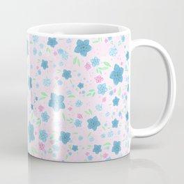 Forget Me Nots - Pink Coffee Mug