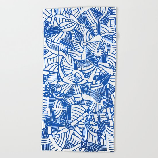 - the captain who fell with the blue angels - Beach Towel