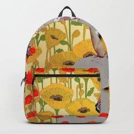 Meet Me in the Poppy Field Backpack
