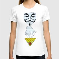 anonymous T-shirts featuring Anonymous by Edgar Huaracha
