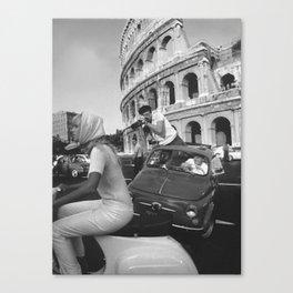 bella roma Canvas Print