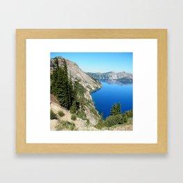 Goin to the Lake Framed Art Print