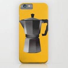 Classic Bialetti Coffee Maker Yellow iPhone 6s Slim Case