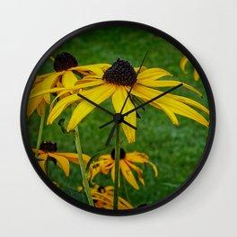 Black Eye Susan Wall Clock