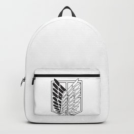 Attack on titan-Wings of freedom- AOT poster- shigenki no kyojin- Levi Acker man, mikasa, historia, Armin, nerd, otaku, geek gifts Backpack