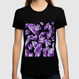 Falling crystals #4 T-shirt