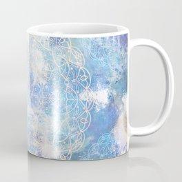 Water Mandala Pattern Coffee Mug